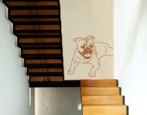 Wandtattoo Old English Bulldogge
