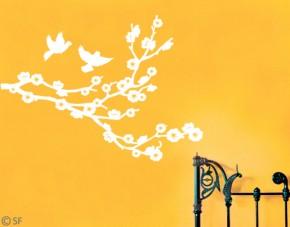 Wandtattoo Fliegende Tauben