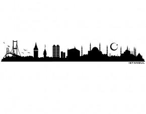 Autoaufkleber Skyline Istanbul