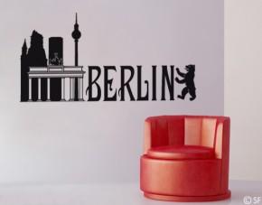 Wandtattoo Berlin