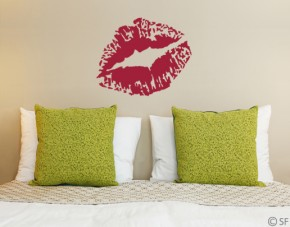 Wandtattoo Lips
