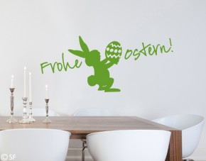 Wandtattoo Frohe Ostern