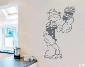 Wandtattoo Popeye