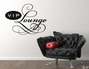 Wandtattoo VIP Lounge