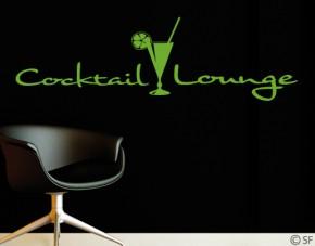 Wandtattoo Cocktail Lounge