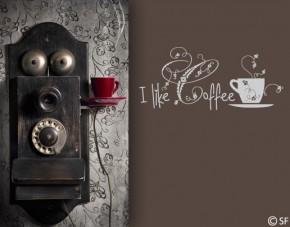 Wandtattoo I like Coffee