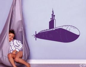 Wandtattoo U-Boot