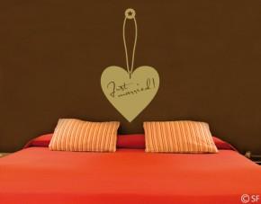 Wandtattoo Label of Love