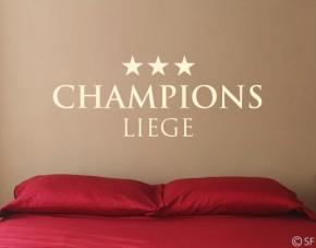 Wandtattoo Championsliege