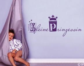 Wandtattoo Kleine Prinzessin