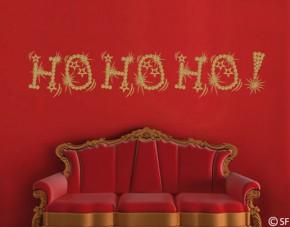 Wandtattoo Ho Ho Ho