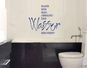 Wandtattoo Wasser