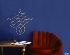 Wandtattoo Kalligrafisches Ornament
