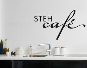 Wandtattoo Stehcafé