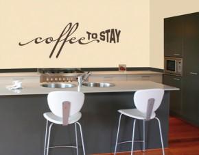 Wandtattoo Coffee to stay