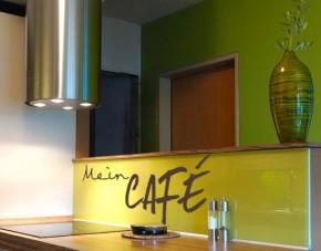 Wandtattoo Mein Café