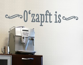 Wandtattoo Ozapft is
