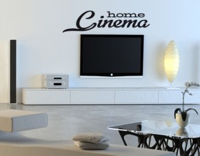 Wandtattoo Home Cinema