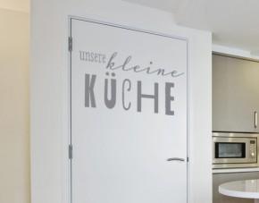 Wandtattoo Unsere kleine Küche