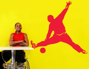 Wandtattoo Handball Torwartparade