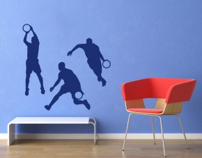 Wandtattoo Basketballer Serie