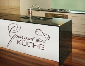 Wandtattoo Gourmet Küche