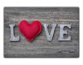 Selbstklebendes Wandbild Love